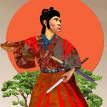"""Warrior of the Rising Sun"" by SidCampbell"