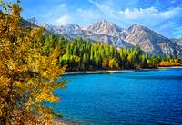 Upper Twin Lakes Fall Beauty