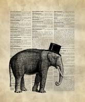 Vintage_DictionaryArt_Elephant