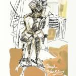 """seated nude art class"" by DavidBleakley"