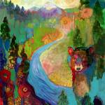 """""""i am the mountain stream"""" by JENLO"""