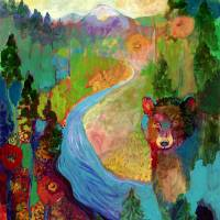 """i am the mountain stream"" by Jennifer Lommers"
