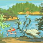 """Lake Swim Placerville"" by rogerwhite"