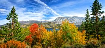 Rock Creek Lake Fall Panorama