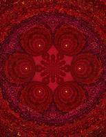 Red Pearl Mandala