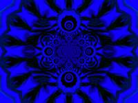 Light Storm  Blue Mandala 3