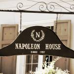 """New Orleans Sign - Napoleon House - Sepia"" by Groecar"