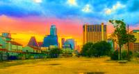 Austin Texas Skyline-Eastside