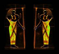 Egyptian Priests In Yellow I