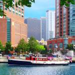 """Chicago IL - Chicago River Near Centennial Fountai"" by susansartgallery"