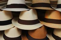 Straw Hats at the Market