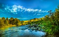 Payette River In HDR