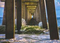 Treasure Coast Florida Pier Seascape C2