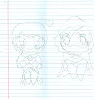 Chibi Knightwing and Starlight 2015