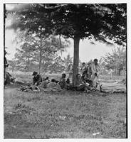 Fredericksburg, Virginia. Wounded Indians from the