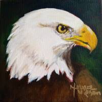 Proud Eagle Art Prints & Posters by Norma Wilson