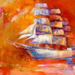 """""""Ship in ocean"""" by boyan"""