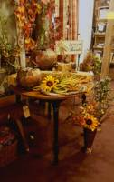 Designer Decorated Fall Theme Table