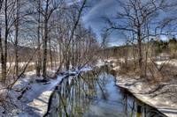 Winter Battenkill River, Manchester,Vermont  # 202