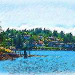 """Coming Into Friday Harbor"" by Kirtdtisdale"