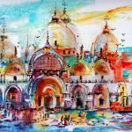 """Piazza Venice Saint Mark"