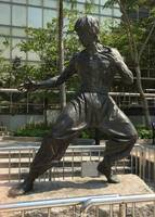 Asian Martial Arts Statue Hong Kong  Culture