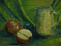 Sl - Still Life with apples and pitcher