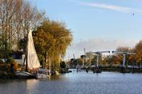 Holland river in Autumn