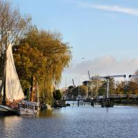 Holland river in Autumn Art Prints & Posters by edmondholland