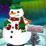 """Frosty Town Christmas Folk Art"" by ReneeLozenGraphics"