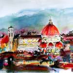 """Florence Cathedral Duomo de Firenze"" by GinetteCallaway"