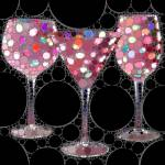 """Wine Glass Art-5"" by Ninas4otos"