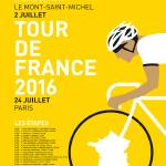 """MY TOUR DE FRANCE MINIMAL POSTER 2016"" by Chungkong"