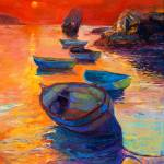 """""""Boats and cliffs"""" by boyan"""