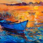 """""""Boat and ocean"""" by boyan"""