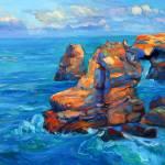 """Cliffs and ocean"" by boyan"