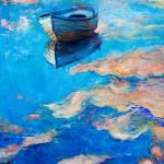 """""""Boat at sea"""" by boyan"""