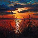 """""""Lake at sunset"""" by boyan"""