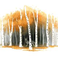 Autumn Art Prints & Posters by Indre Bankauskaite