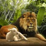 """""""The Lion and the Lamb"""" by spadecaller"""
