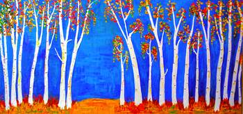 whimsical BirchTrees