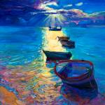 """""""ocean and boats"""" by boyan"""