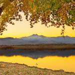 """Golden Autumn Through The TreesTwin Peaks View"" by lightningman"