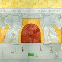 The Mind is Larger than the Sky Art Prints & Posters by Benjamin Mohr