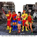 """""""Teen Titans Defeat Alien Invastion, San Francisco"""" by Automotography"""