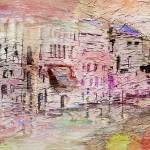 """Abstract Art Spring In Venice by Ginette"" by GinetteCallaway"