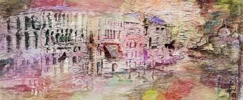 Abstract Art Spring In Venice by Ginette