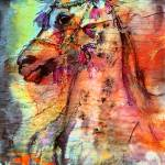 """Arabian Stallion Expressive Art by Ginette"" by GinetteCallaway"