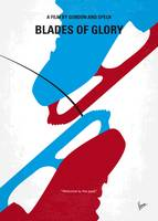 No562 My Blades of Glory minimal movie poster