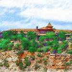 """""""El Tovar At The Grand Canyon"""" by Kirtdtisdale"""
